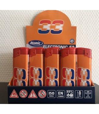 Atomic Aansteker Oranje Max 33