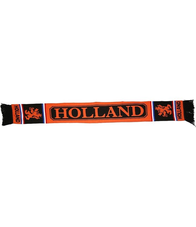 ORANJE Sjaal Zwart Oranje