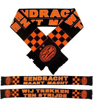 PSV Sjaal  Oranje Zwart