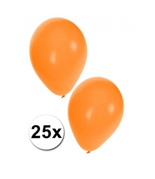 HOLLAND Oranje Ballonnen  25 stuks