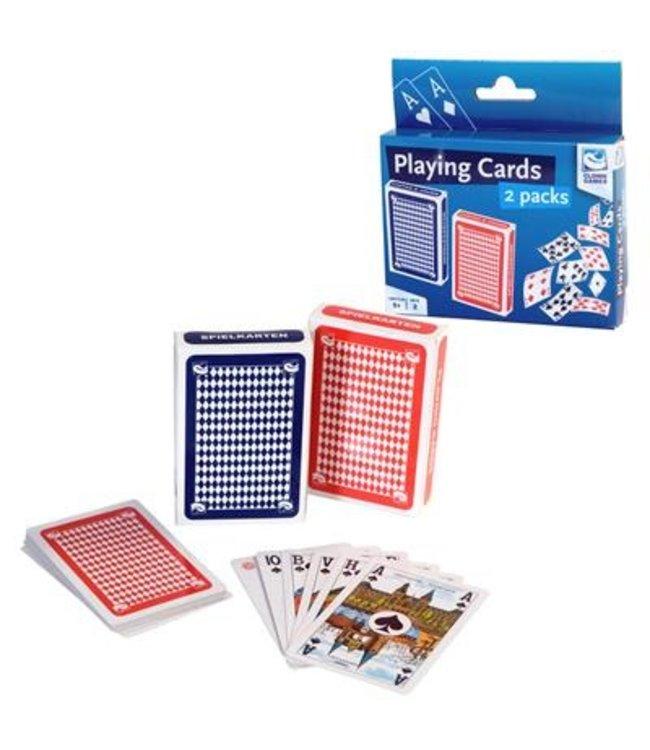 Speelkaarten 2 per set van 2