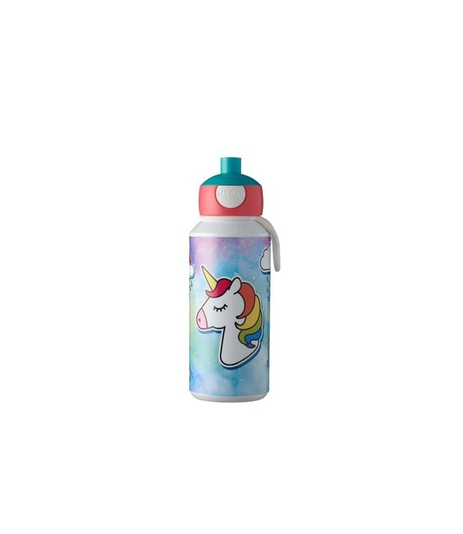 UNICORN Pop up Drinkfles Mepal 400 ml