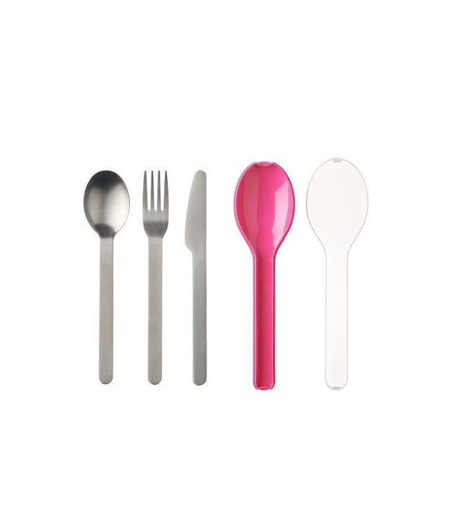 MEPAL Bestekset 3-dlg Nordic Pink