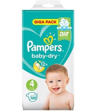 Pampers Baby Dry 4 - 120 stuks