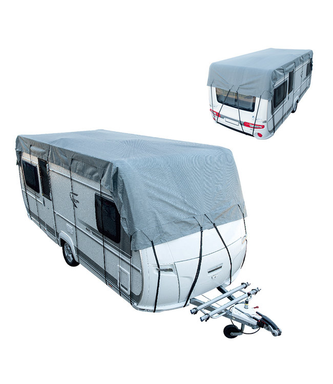 Caravan- en camperdakhoes 7 m x 300 cm