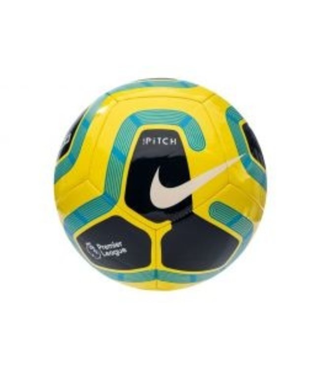 NIKE Pitch Premier League 19-20 Flour Groen Geel Zwart 5