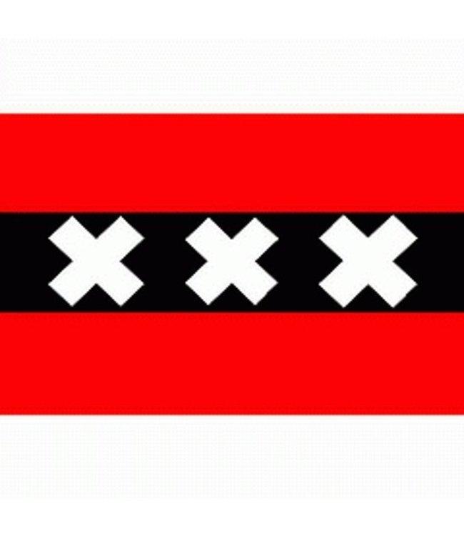 AMSTERDAM Vlag Drie Kruizen 150x250 cm