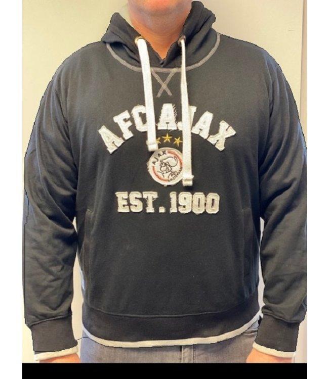 AJAX Hoody Zwart EST 1900