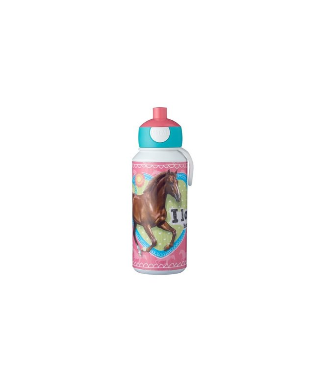 MY HORSE Pop-up Drinkfles 400 ml