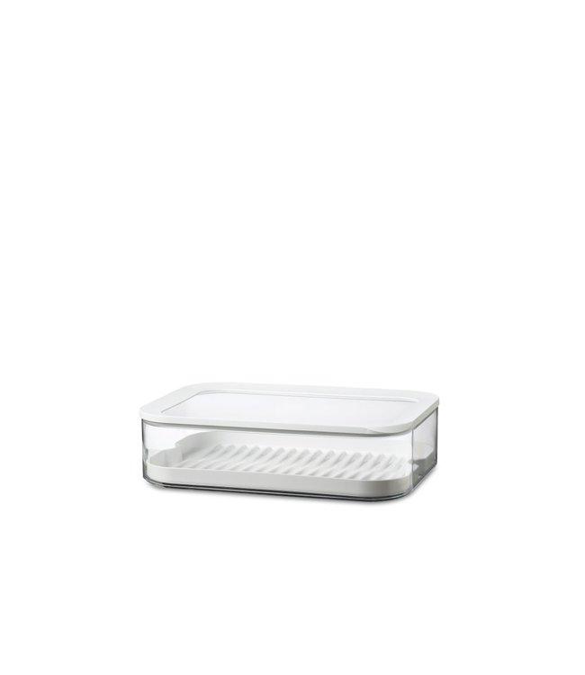 MEPAL Bewaardoos modula xxl met tray - wit