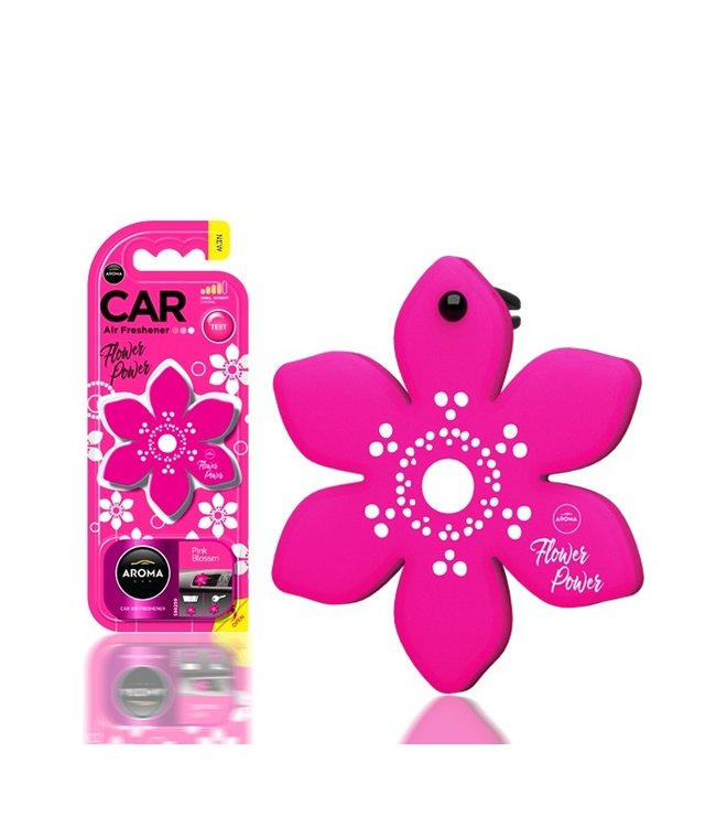 Aroma Car Flower Pink Blossom