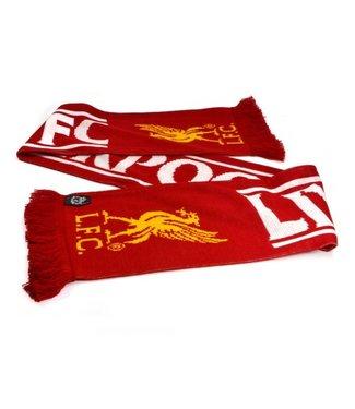 LIVERPOOL Sjaal Rood Wit /Geel logo 561