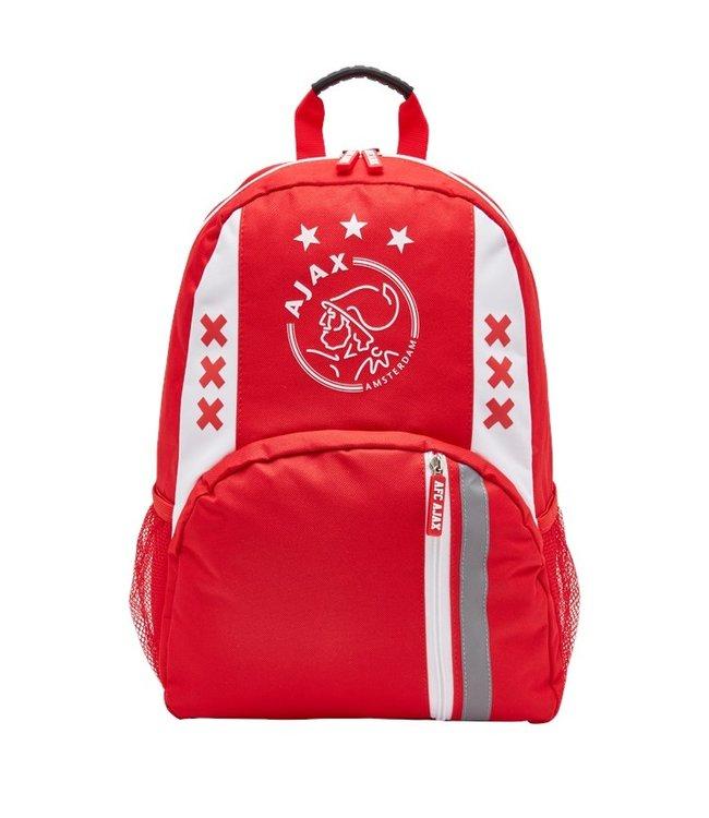 AJAX Rugtas klein wit rood wit logo xxx