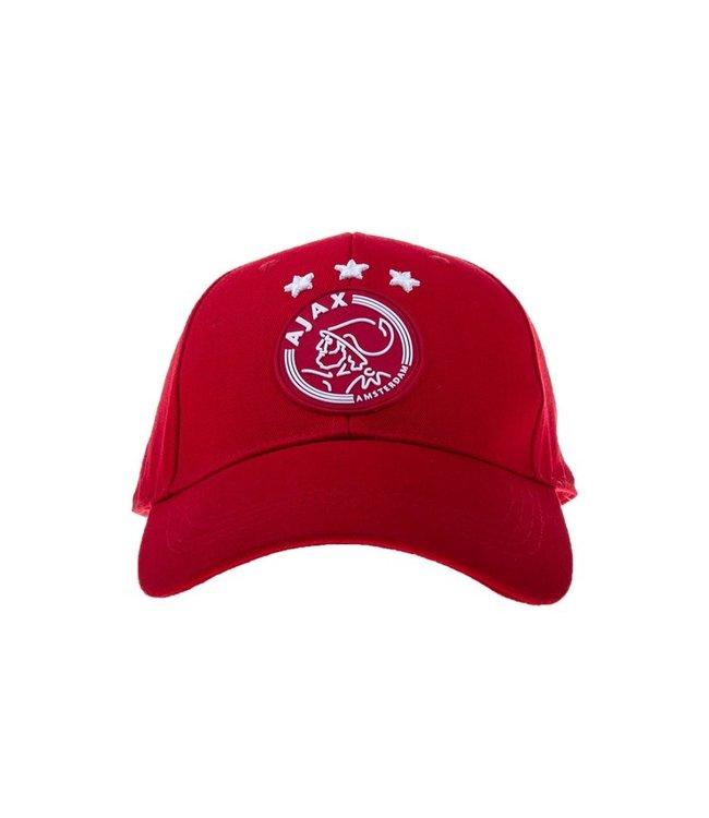 AJAX Cap rood logo volwassenen