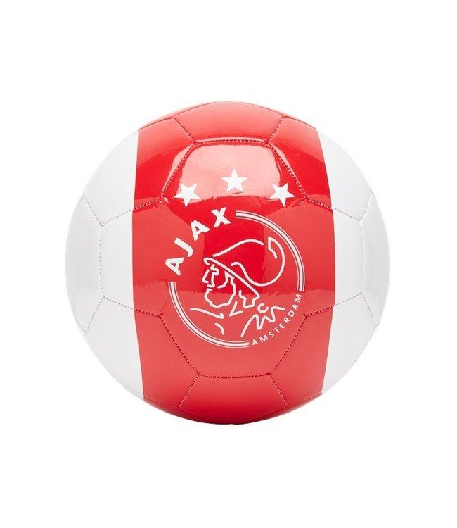 AJAX Voetbal Wit Rood Wit Kruizen ( 5)