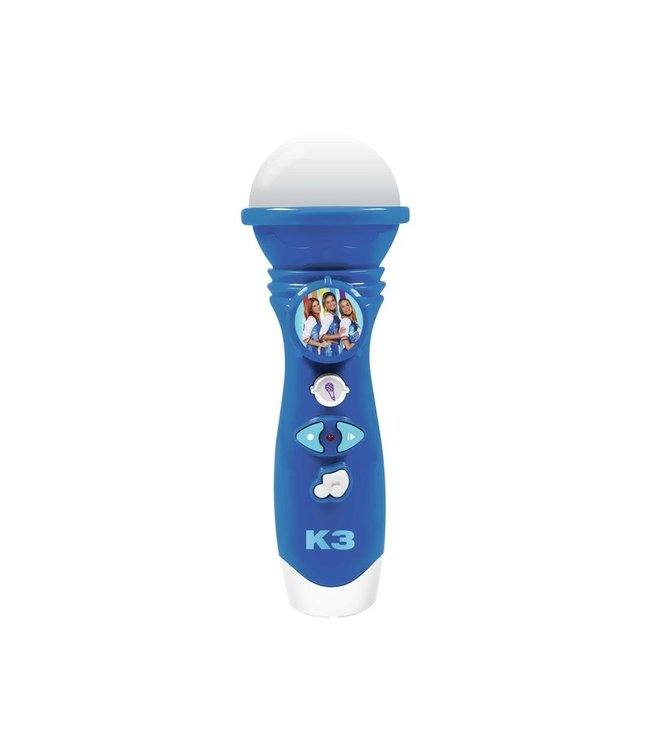 K3 Microfoon met stemopname Rollerdisco