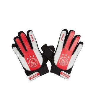 AJAX Keepershandschoen W/R/W  L-XL