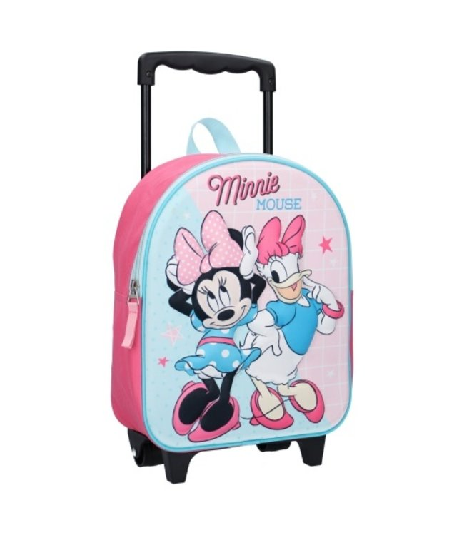 MINNIE MOUSE Disney Simply Sweet (3D) Rugzaktrolley - 9,3 le