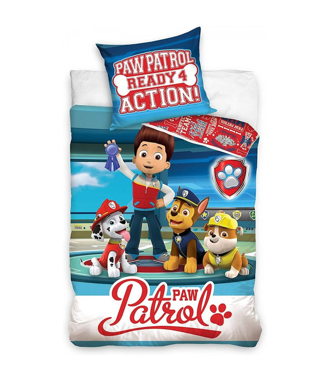 PAW PATROL Dekbedovertrek Ready Action 988