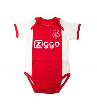 AJAX Baby romper wit rood wit Ziggo 50/56