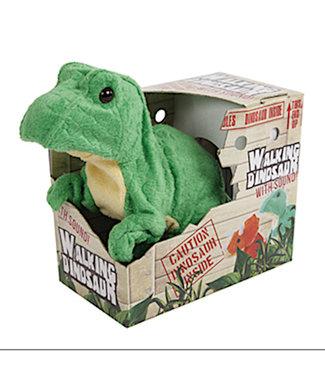 DinoWorld loopdino T-Rex groen 18cm