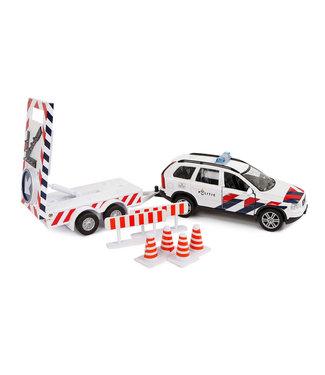 Politie Volvo XC90 met pijlwagen NL die cast pb met licht 2m