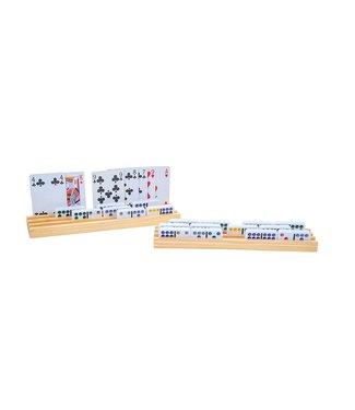 Domino en kaarthouder, afm. 25,5 x 6 cm. Verpakt per 4 stuk.
