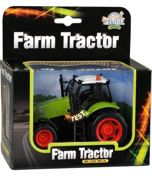 Tractor met Licht en Geluid 11 cm