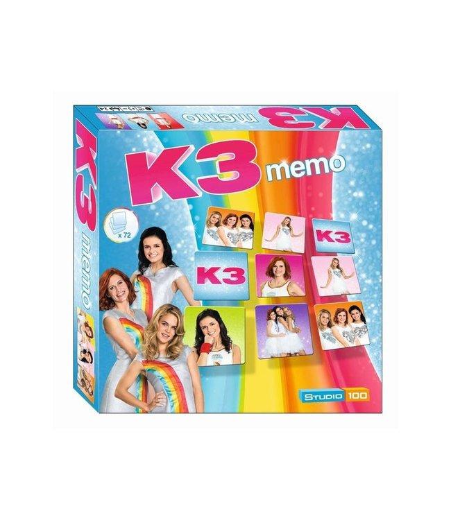 K3 Memo spel / Memory