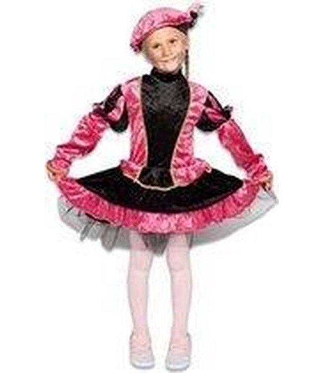 Pietenpak - jurkje met petticoat roze (mt 116)