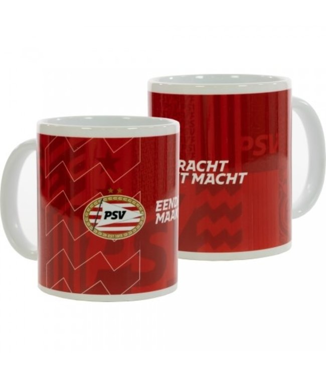 PSV Mok Prints & Vibes Rood