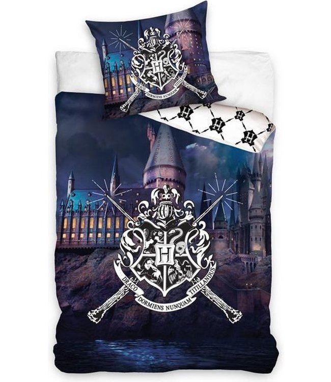 Harry Potter Hogwarts Castle Dekbedovertrek140x200 cm (289)