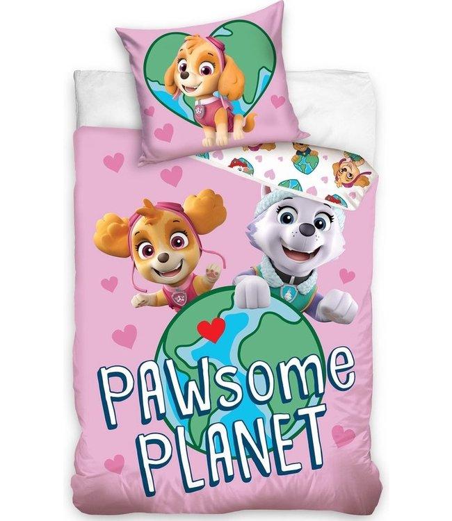 PAW Patrol Dekbedovertrek PAWsome Planet 140x200cm ( 487)