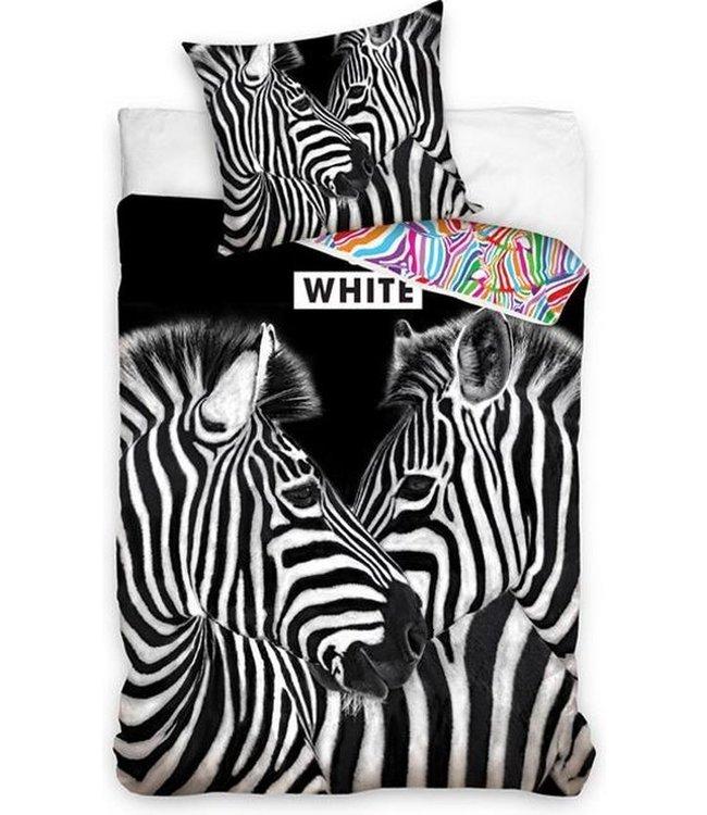 Dekbedovertrek Zebra's Dekbedovertrek 140x200cm ( 586)