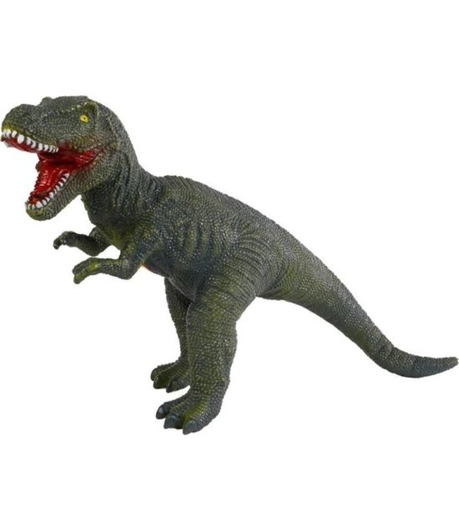 Dinoworld Dinosaurus T-rex Jongens 57 Cm Rubber Groen