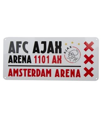 AJAX License Plate Arena