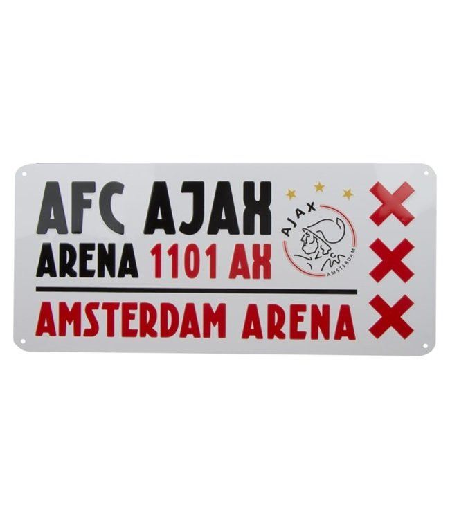 AJAX License Plate Arena