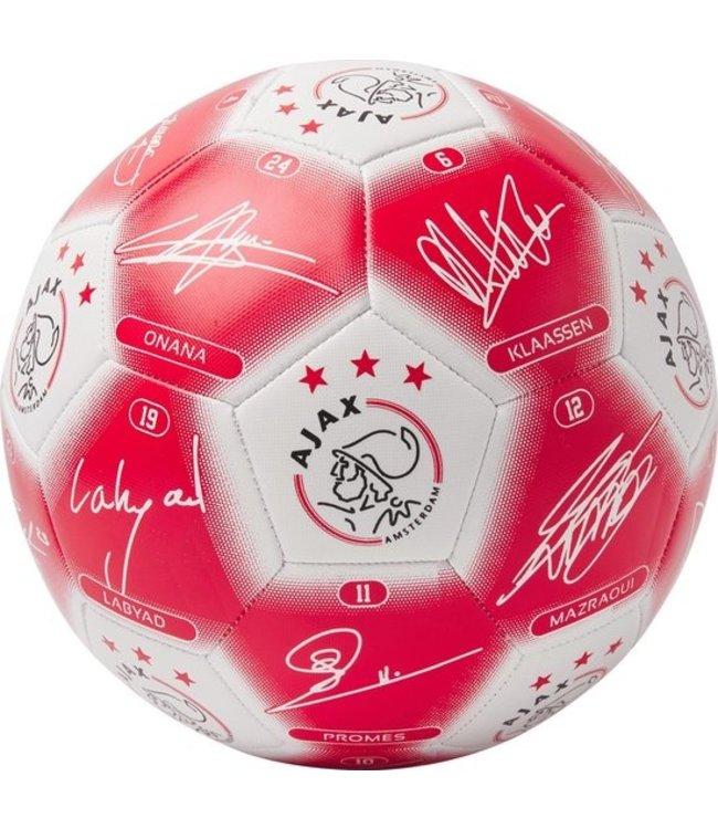 AJAX Voetbal gr. 5 handtekeningen heren 2020-2021