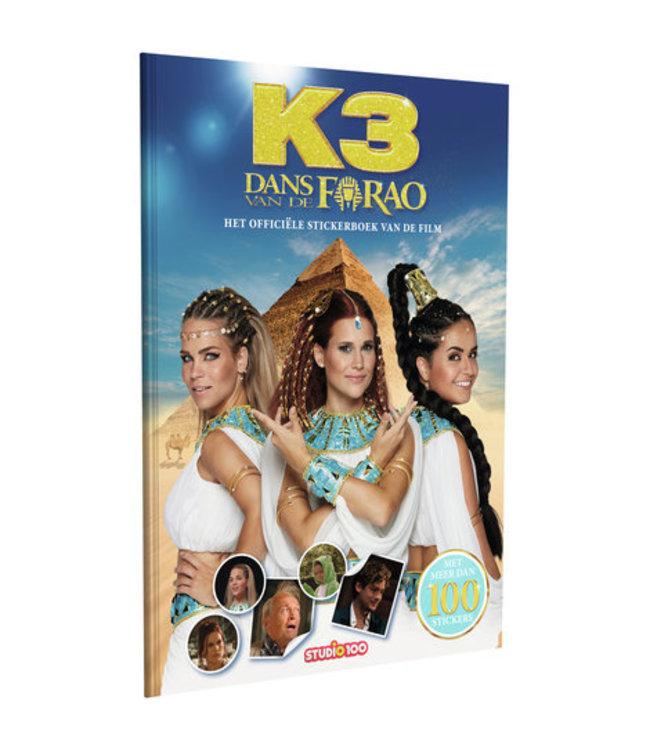 K3 Stickerboek dans van de Farao