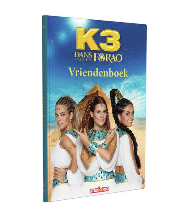 K3 Vriendenboek Dans van de Farao