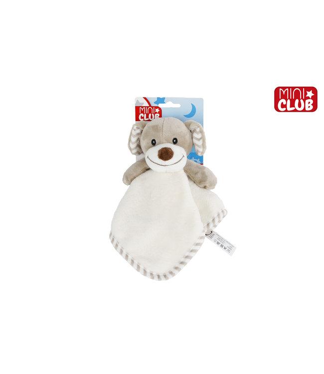 Knuffeldoekje Met Rammelaar Junior Pluche 35 Cm Mini Club