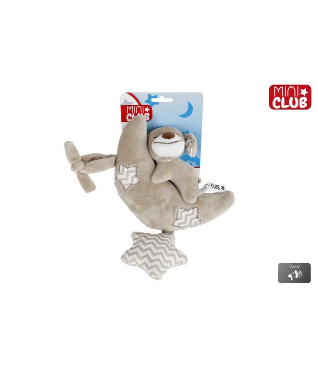 Muziekdoos Hond Pluche 30 cm Mini club