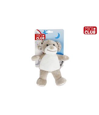 Knuffelhond Junior 20 Cm Pluche Lichtbruin Mini Club