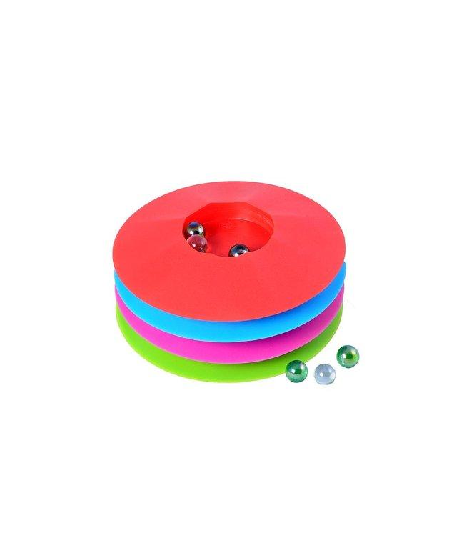 Knikkerpot®, kleur assorti, met knikkers, ? 17 cm, verpakt r