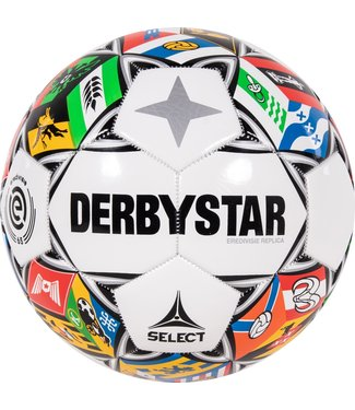 Derbystar Voetbal 2021/2022 Opgepompt Gekleurd