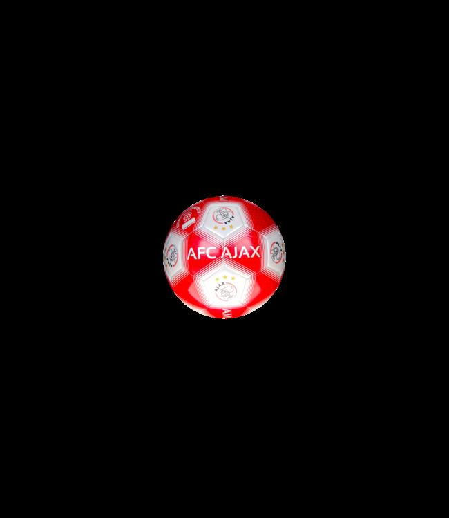 Ajax Voetbal Klein maat 2 rood strepen XXX
