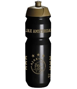 AJAX Bidon Zwart Goud 750 ml