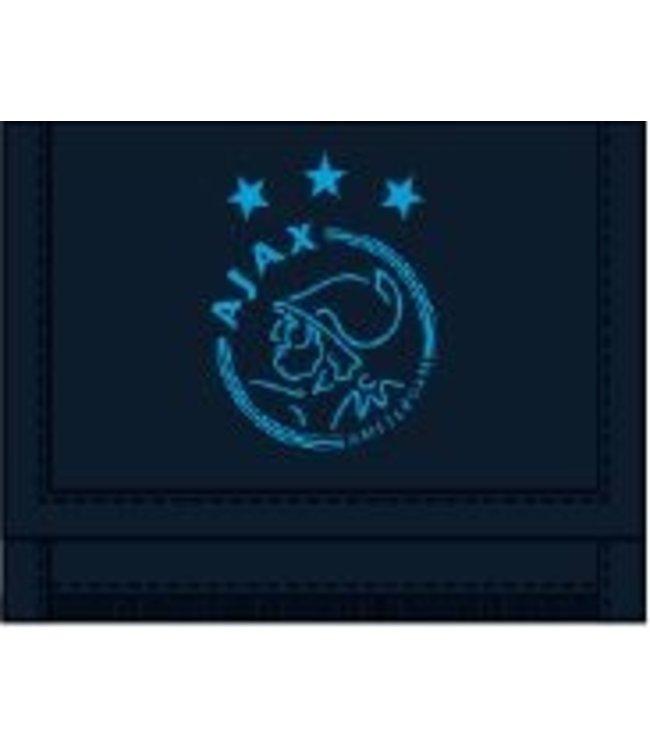Ajax Portemonnee Blauw mesh XXX