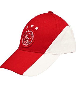 ajax Ajax Cap wit rood wit met logo volw.