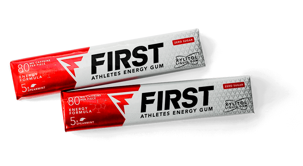 FIRST Energy Gum 2-pack